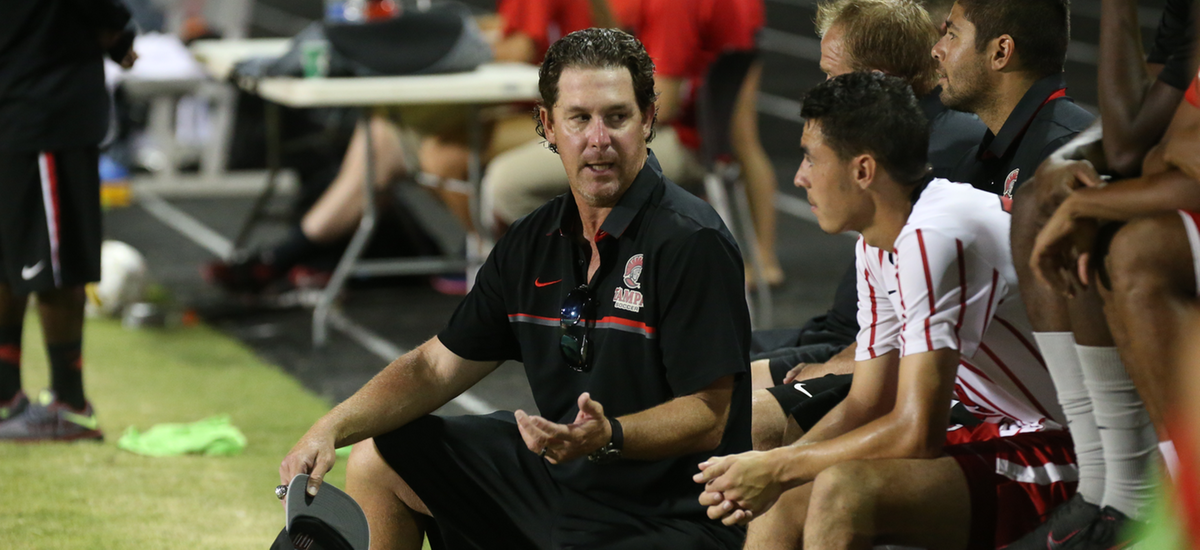 NSCAA Tabs Tampa Men's Soccer as South Region Staff of the Year