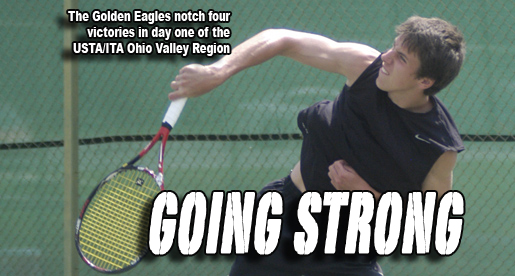 A trio of Golden Eagles advance in the Ohio Valley Region