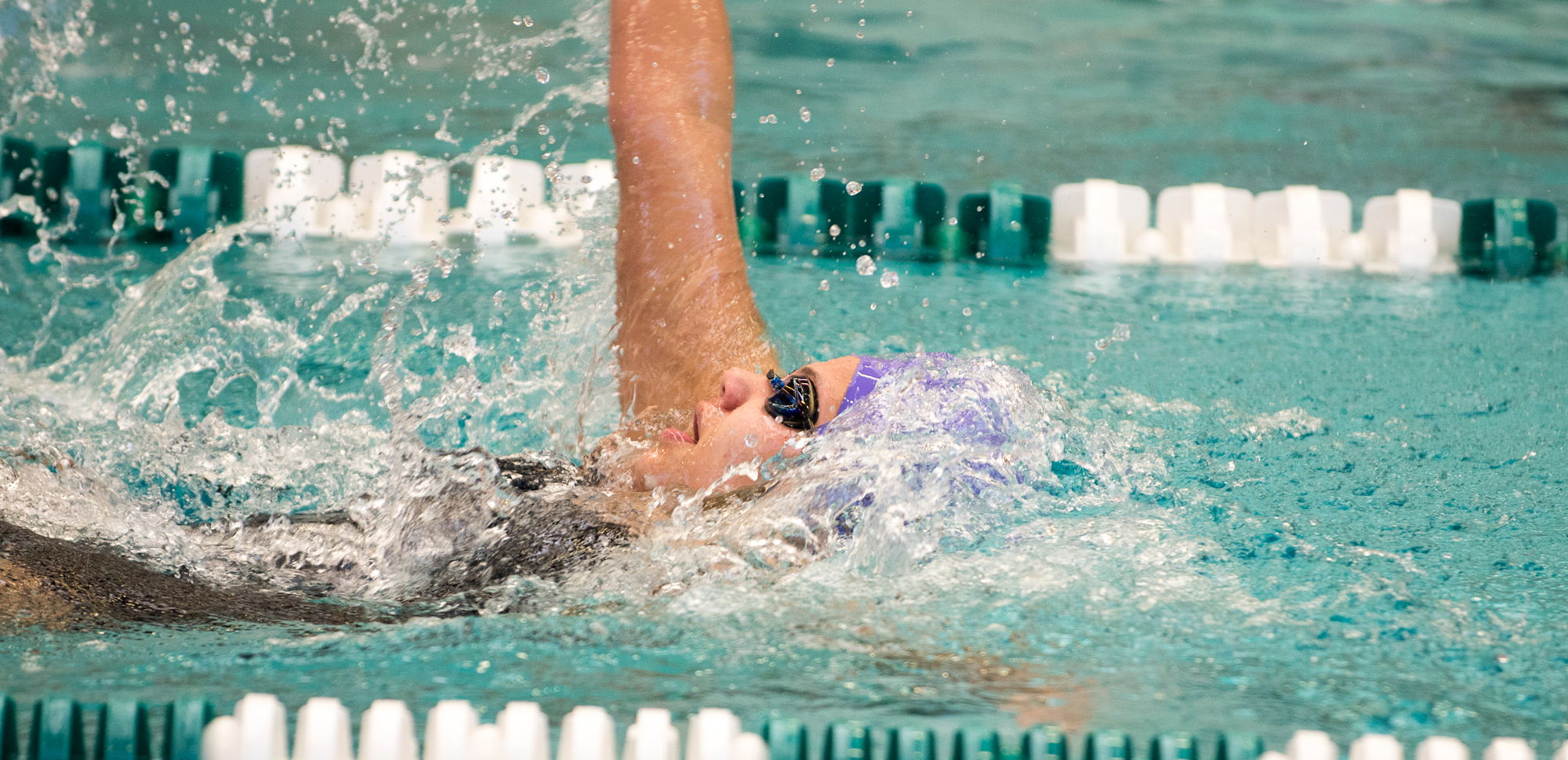 Freshman Riva Kelly was the first Royal swimmer to take an event on the day, as Scranton improved to 7-1 in dual meets with a win at Misericordia on Saturday.