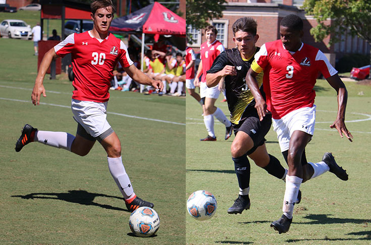 Men's Soccer: Jude McEvoy, Qua Tucker selected to USA South All-Conference teams