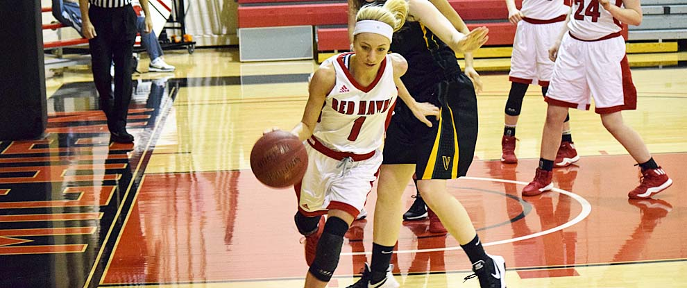 Photo for Lady Red Hawks Blast Past The Lady Raiders