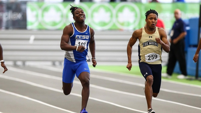 Men's Track Gives Impressive Showing at John Thomas