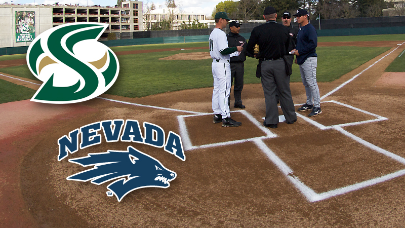 BASEBALL HOSTS NEVADA ON TUESDAY