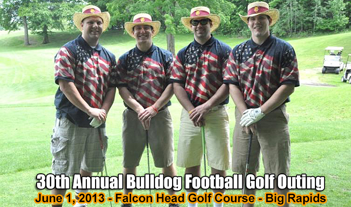 30th Annual Bulldog Football Golf Outing Set For June 1
