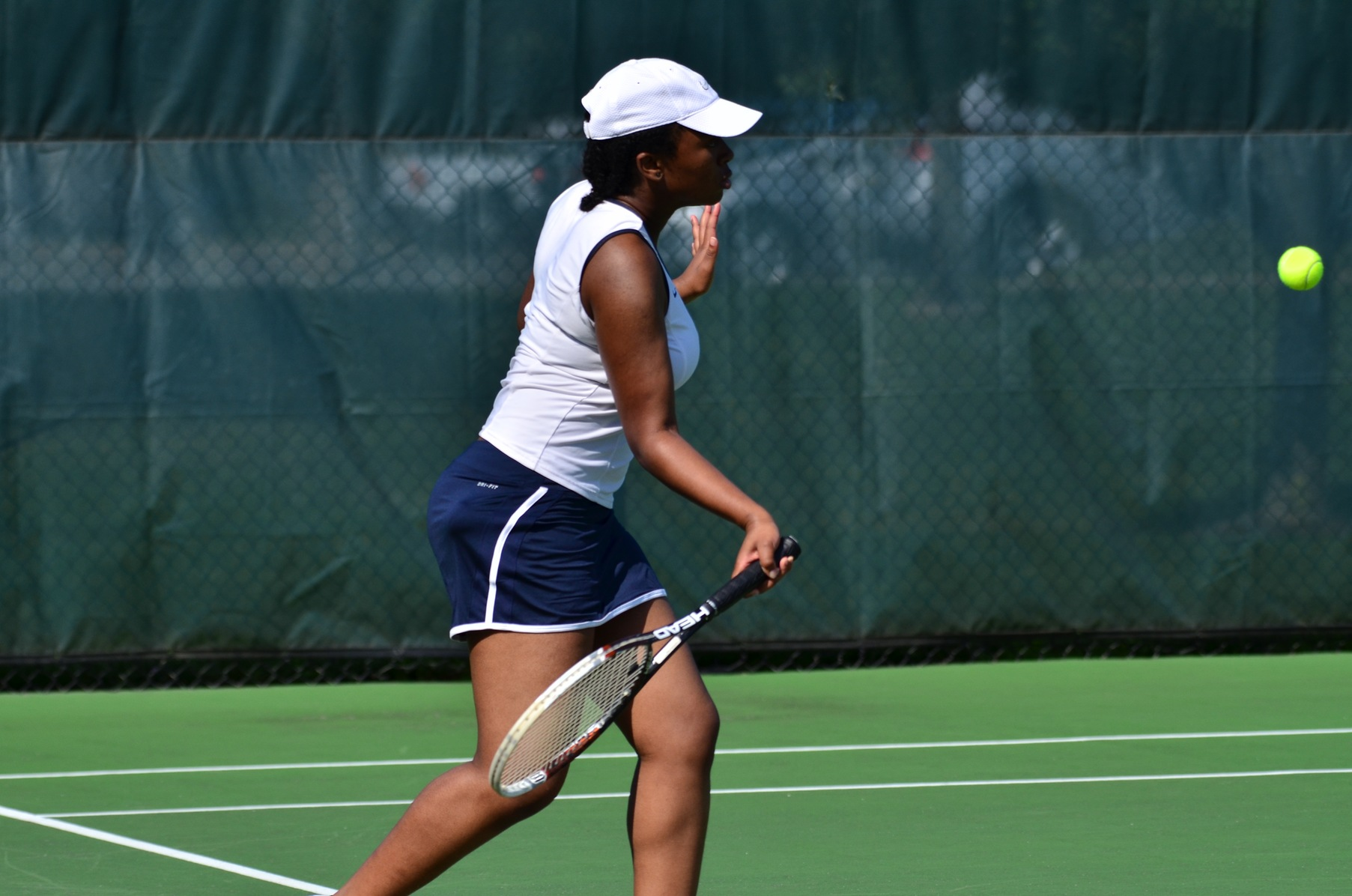 Donley Wins First Singles Match; Lions Fall to Mt. Aloysius