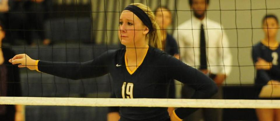 Volleyball Ends Road Swing with Loss at Hanover