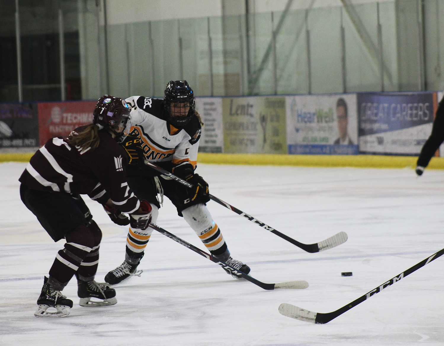 Broncos face set back in loss to MacEwan Griffins