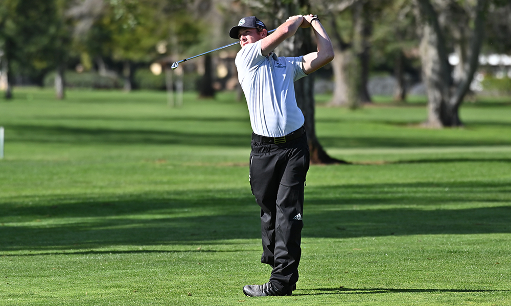DAVIDSON LEADS MEN'S GOLF IN FIRST ROUND OF EL MACERO CLASSIC