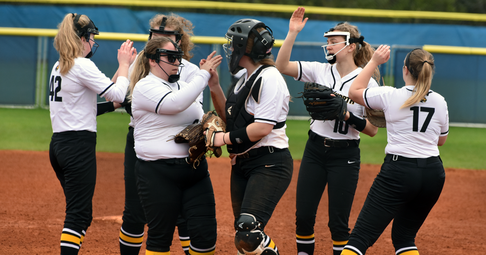 Records Fall as Softball Takes Two from Mass. Maritime