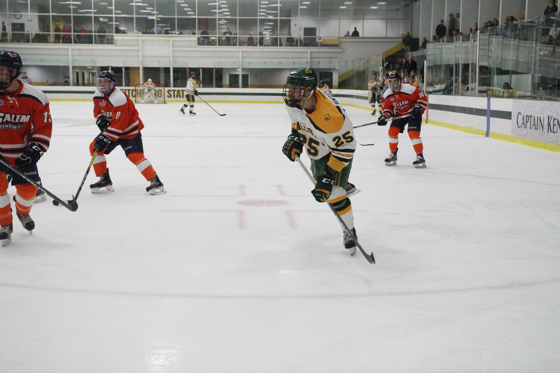 Fitchburg State Edged By Salem State, 3-1