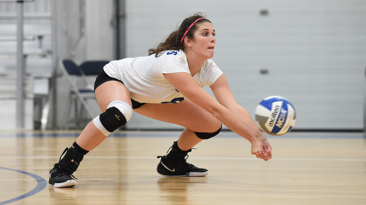 Elly Cosgrove notched a career-best 33 digs in the Generals 3-2 loss to Colorado College.