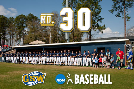 GSW baseball returns to national poll