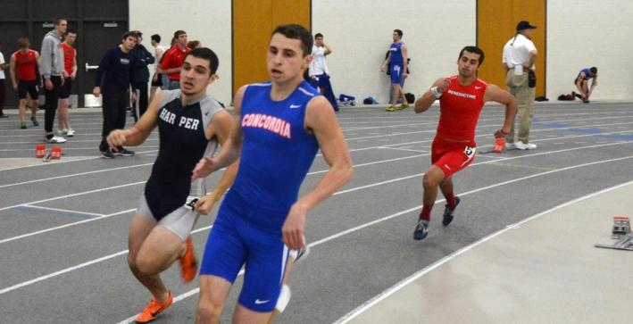 Men's Track & Field competes at Eagle Invitational