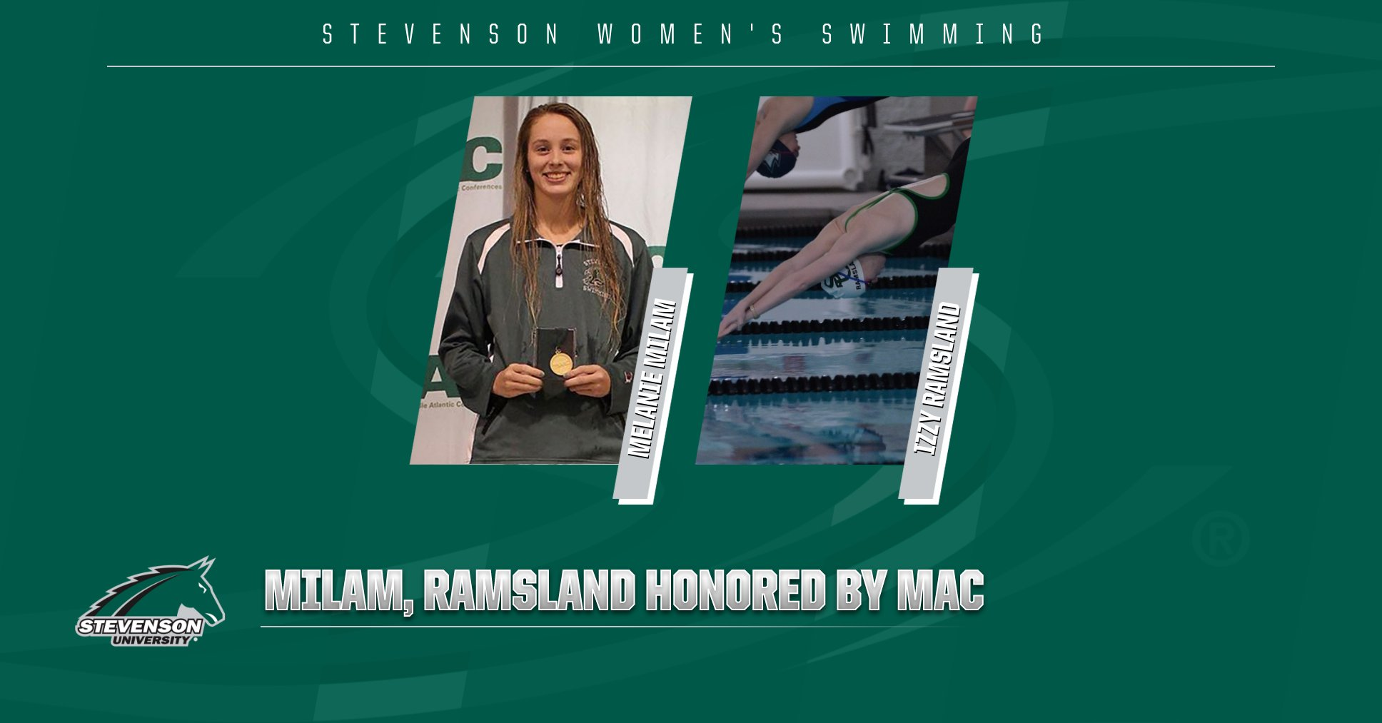 Milam, Ramsland Honored by MAC