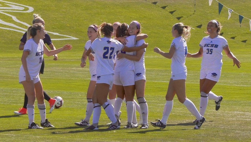 UCSB's 1-0 win over UC Riverside gave them their second Big West Conference win of the season. (Photo courtesy of Brian Edwards)