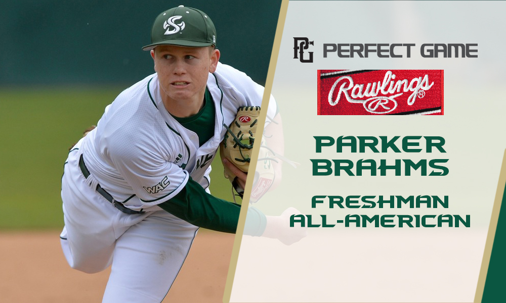 BRAHMS NAMED SECOND TEAM FRESHMAN ALL-AMERICAN BY PERFECT GAME/RAWLINGS
