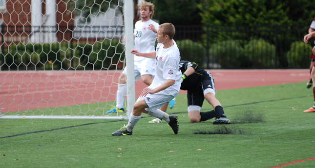 Hornets Score Early; Hang on to Defeat Quakers 1-0