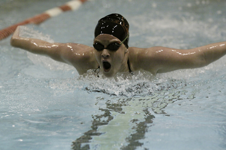 Swimmers Finish Fourth at ODAC Relays