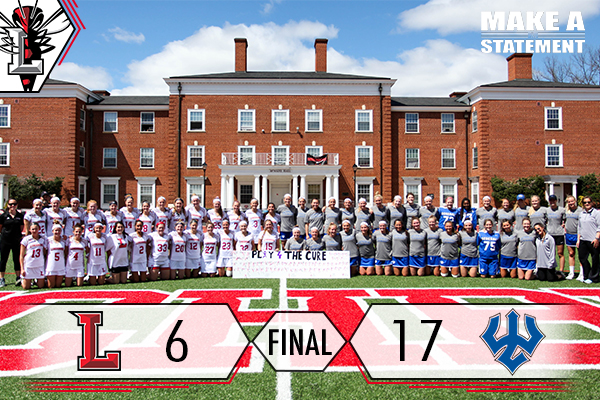 Women's Lacrosse Falls to W&L in Play4TheCure Game, 17-6