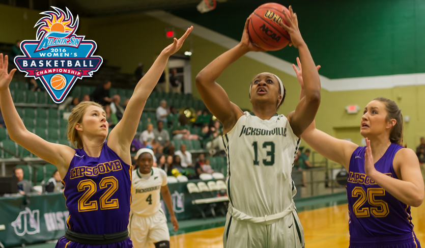 Dolphins Collect Season's 20th Win; Defeat Bisons in @ASunWBB Quarterfinals