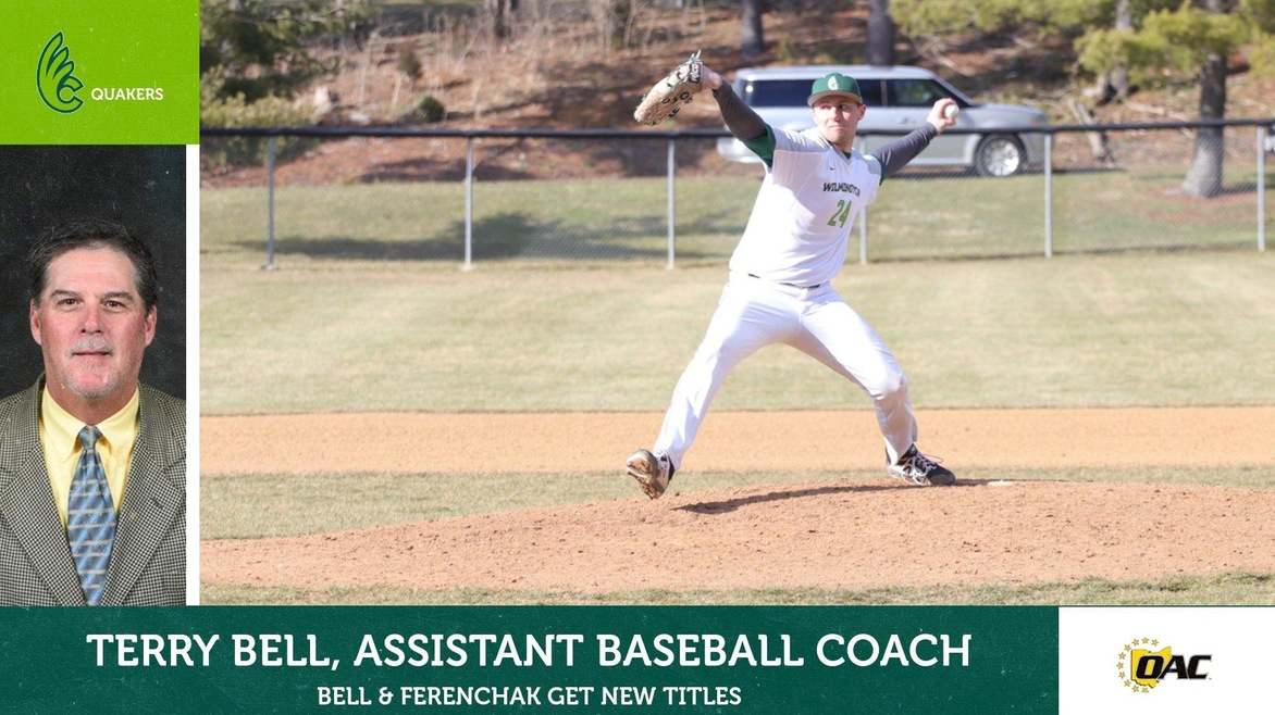 Bell Joins Baseball Staff, New Title for Ferenchak