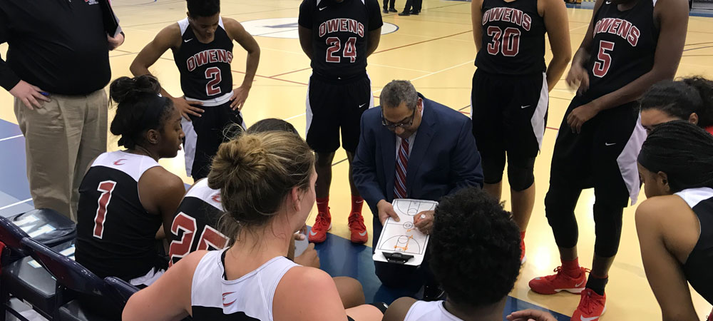 Four Starters in Double Figures as Owens Defeats Union County 82-64, Moves on to NJCAA Quarterfinals