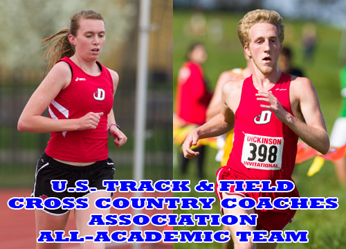 Mary Nolte and Ryan Steinbock earned individual honors while the Red Devil men's and women's track & field teams received All-Academic honors from the UST&FCCCA<BR>