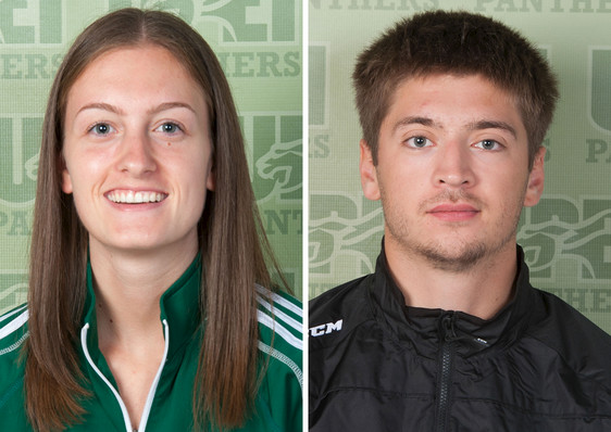 UPEI announces the Panther Subway Athletes of the Week, November 26 to December 2