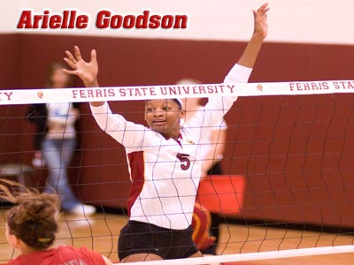 Arielle Goodson Earns GLIAC North Division Volleyball Player Of The Week
