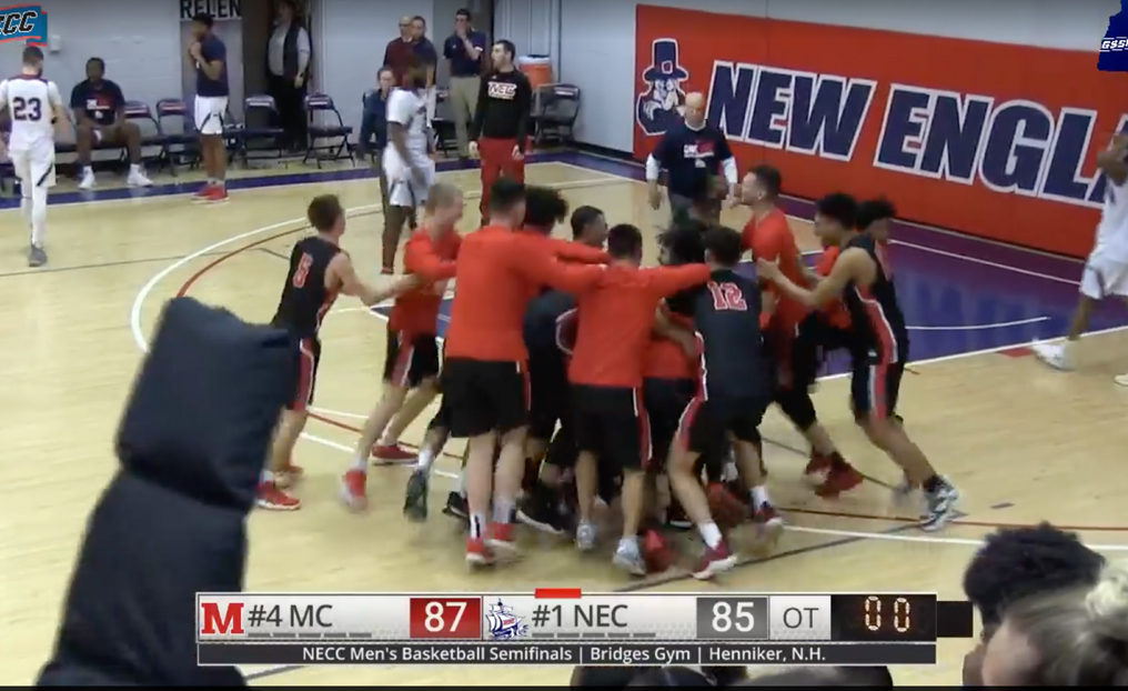 Finke's OT Buzzer Beater Sends MBB to NECC Finals