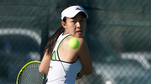 NGUYEN EARNS BIG SKY WOMEN'S TENNIS PLAYER OF THE WEEK HONORS