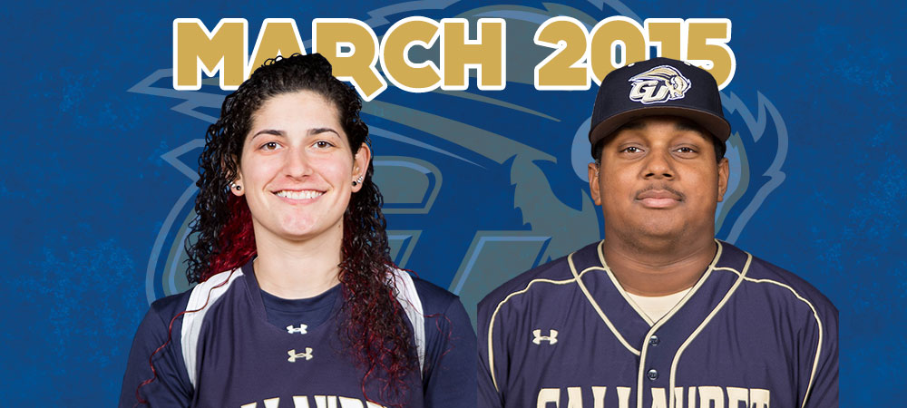 Ciccarelli and Strong named March Bison of the Month presented by GIS