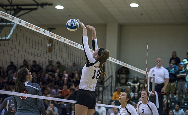 Volleyball falls in five-set thriller to Catawba