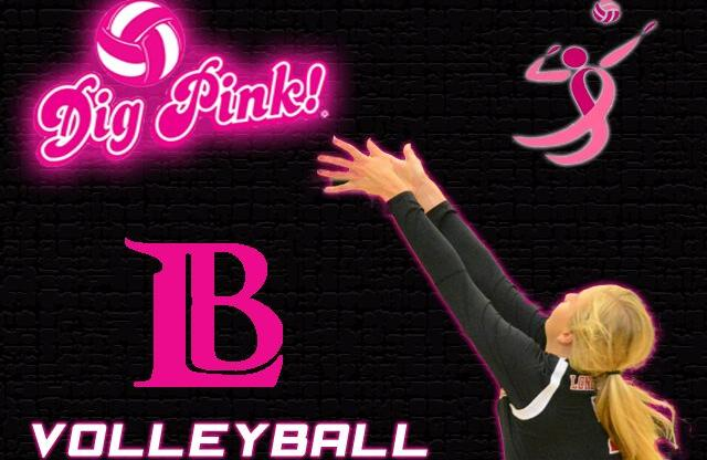 LADIES FALL TO LBCC - DIG PINK GAME