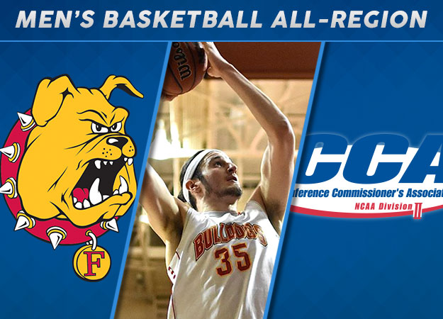 Ferris State's Hankins Named 2017 D2CCA Midwest Region Player of the Year; Six GLIAC Standouts Recognized