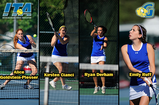 Four Gophers Earn ITA Scholar-Athlete Status
