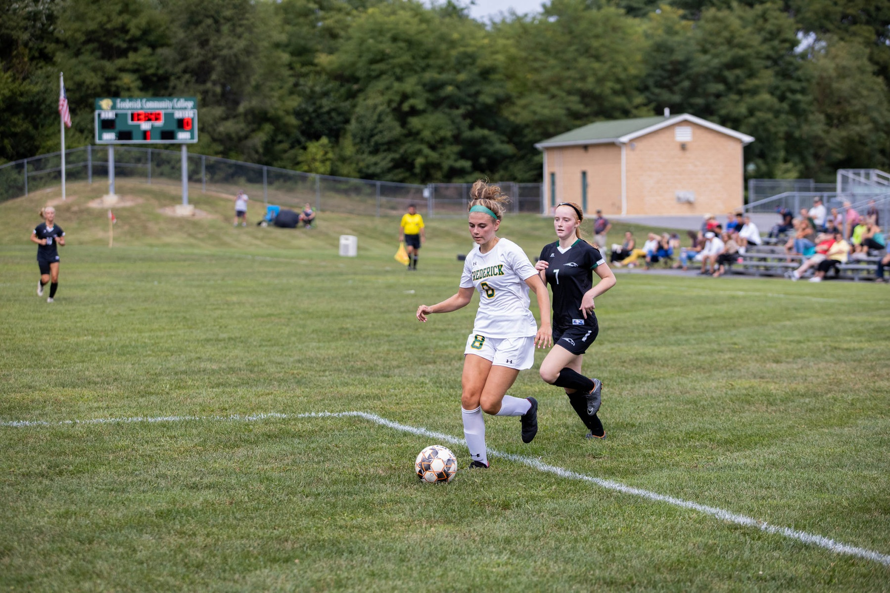 Women's Soccer Closes Out Regular Season With Win Over Catamounts