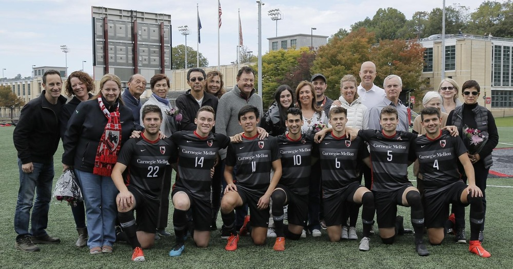 Late Goal Lifts Tartans at Home Against Emory on Senior Day