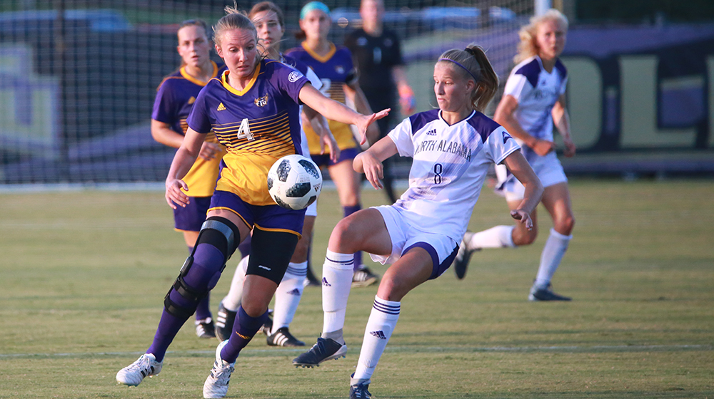 Golden Eagles suffer first home loss of the season with 4-0 defeat to UNA