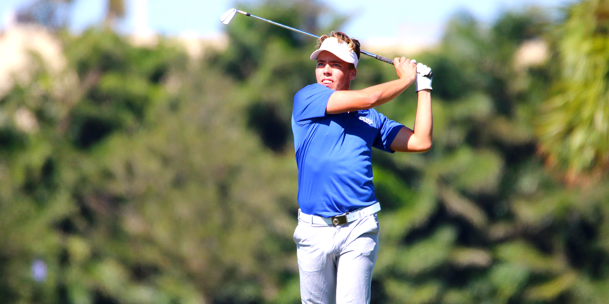 Kvarnstrom's Big Day Catapult's Men's Golf Into Third