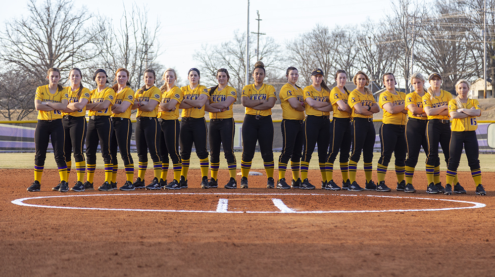 Tech softball closes out regular season Friday looking for OVC tourney berth