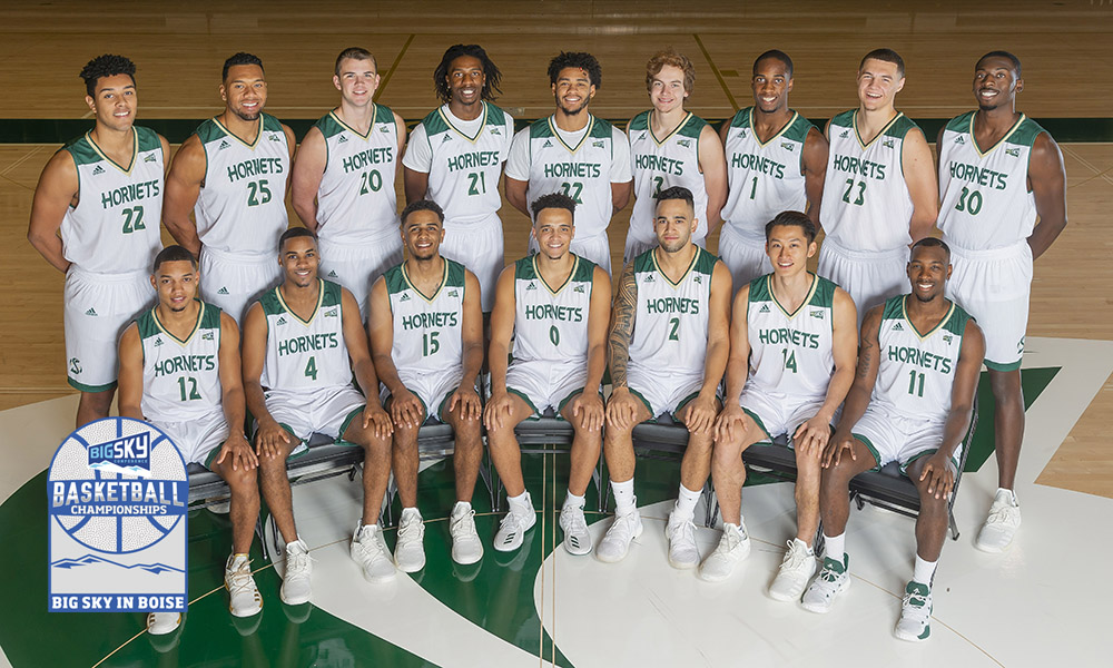 MEN'S HOOPS OPENS BIG SKY TOURNAMENT PLAY WEDNESDAY MORNING VS. NORTHERN ARIZONA