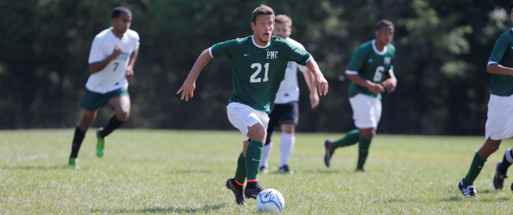 Norwich Eases To Victory Over Men's Soccer