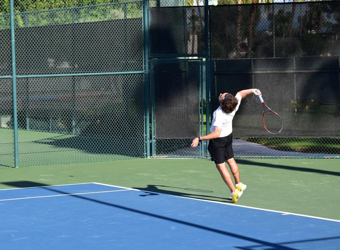 No. 21 Men's Tennis Dominates Oxy for Rebound Win