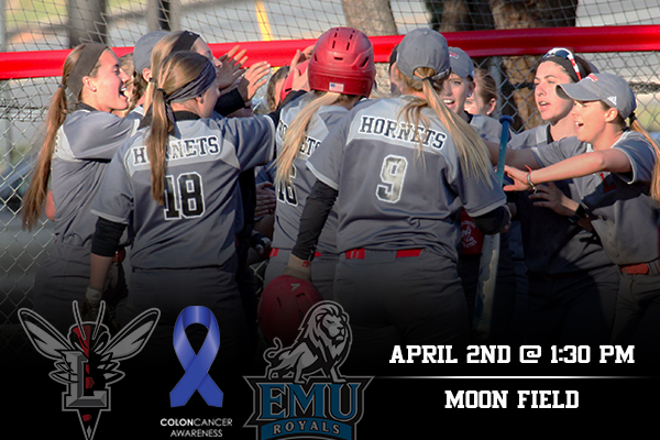 Softball To Host Colon Cancer Awareness Game on Sunday