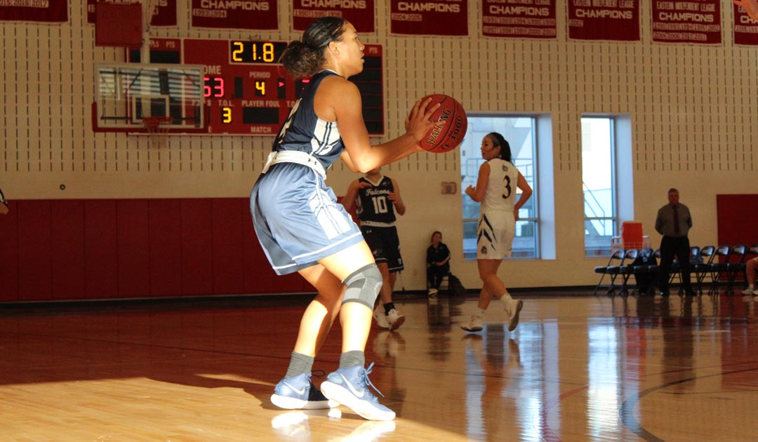 Women's Basketball Hangs On For The 49-45 Victory Over Warner College