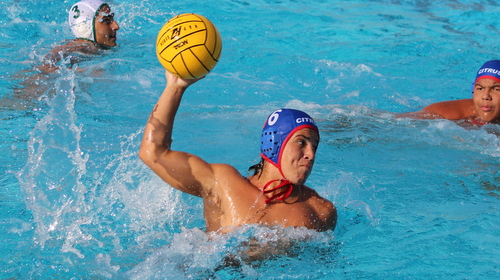 Sophomore James Adams had five goals in Citrus' win over Fullerton College. Photo By: Grazia Watkins.