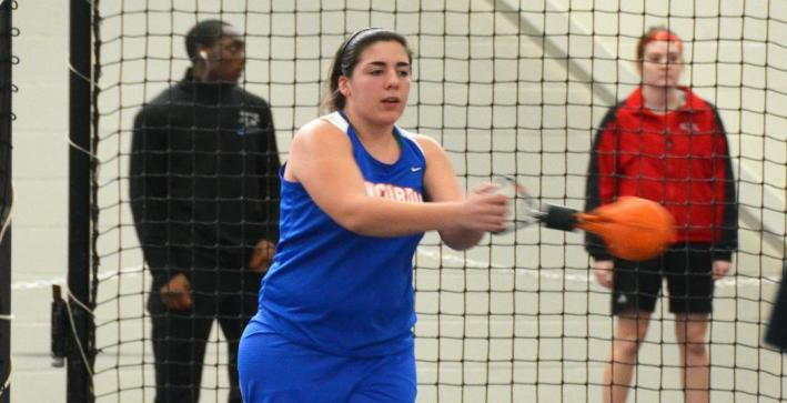 Women's Track & Field places fifth at NAC Indoor Championships
