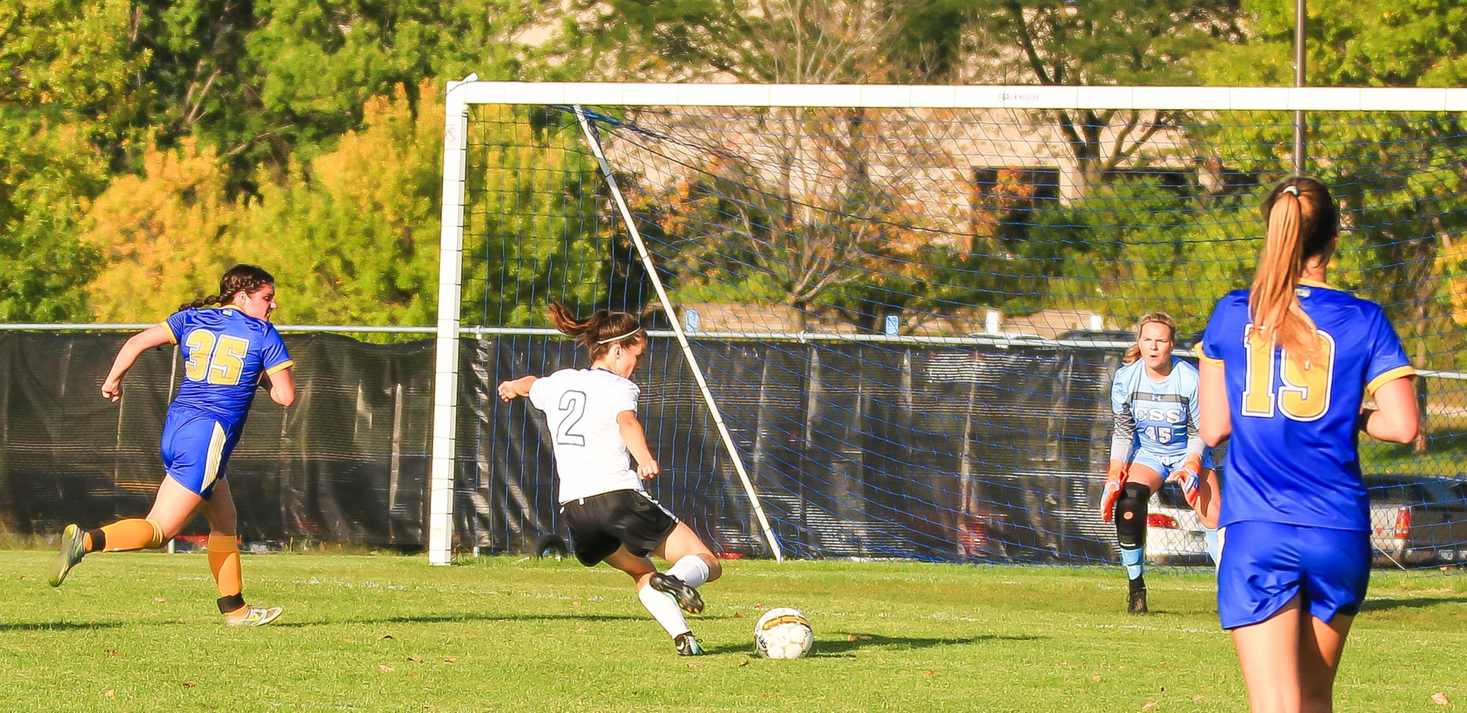Women's Soccer Hit Tough Conference Schedule