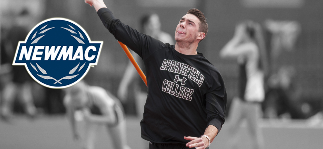 DeVaux Earns NEWMAC Men's Field Athlete of the Week